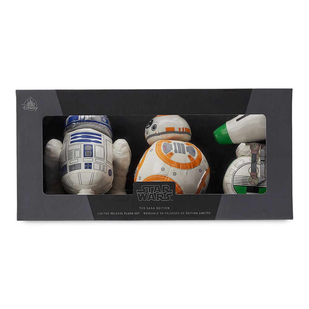 Star Wars: The Saga Edition Droid Plush Set – Limited Release – 8''
