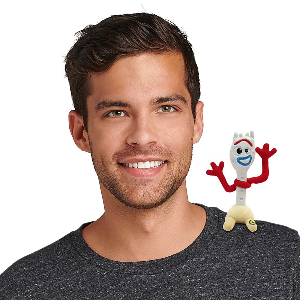 Forky Magnetic Shoulder Plush – Toy Story 4