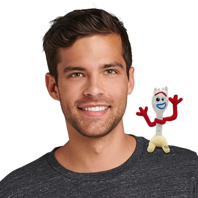 Forky Magnetic Shoulder Plush – Toy Story 4