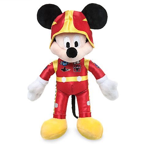 Mickey Mouse Plush - Mickey and the Roadster Racers - Small - 9 1/2''