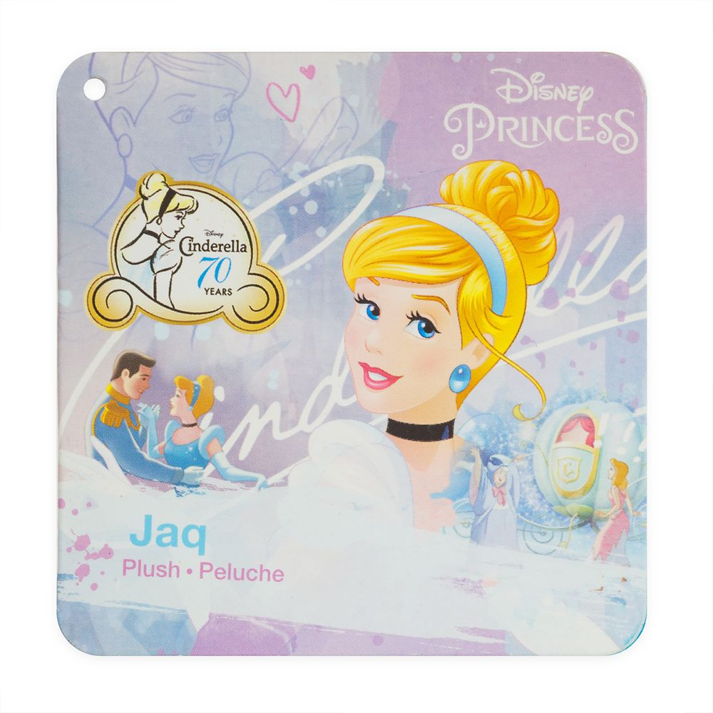 Jaq Plush – Cinderella – Mini Bean Bag – 8''