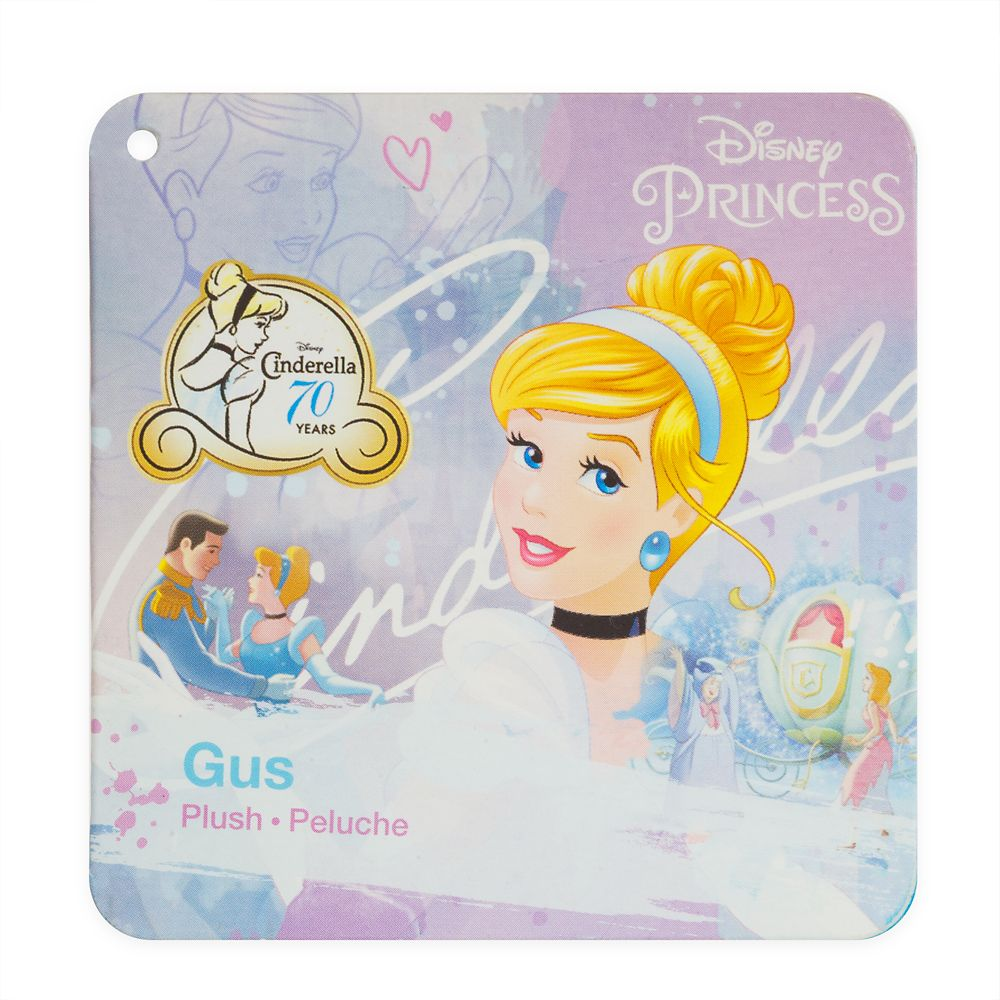 Gus Plush - Cinderella – Mini Bean Bag – 8''