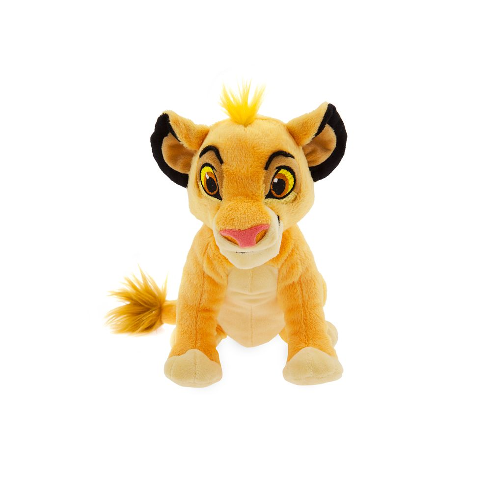 Simba Plush  The Lion King  Mini Bean Bag  7'' Official shopDisney