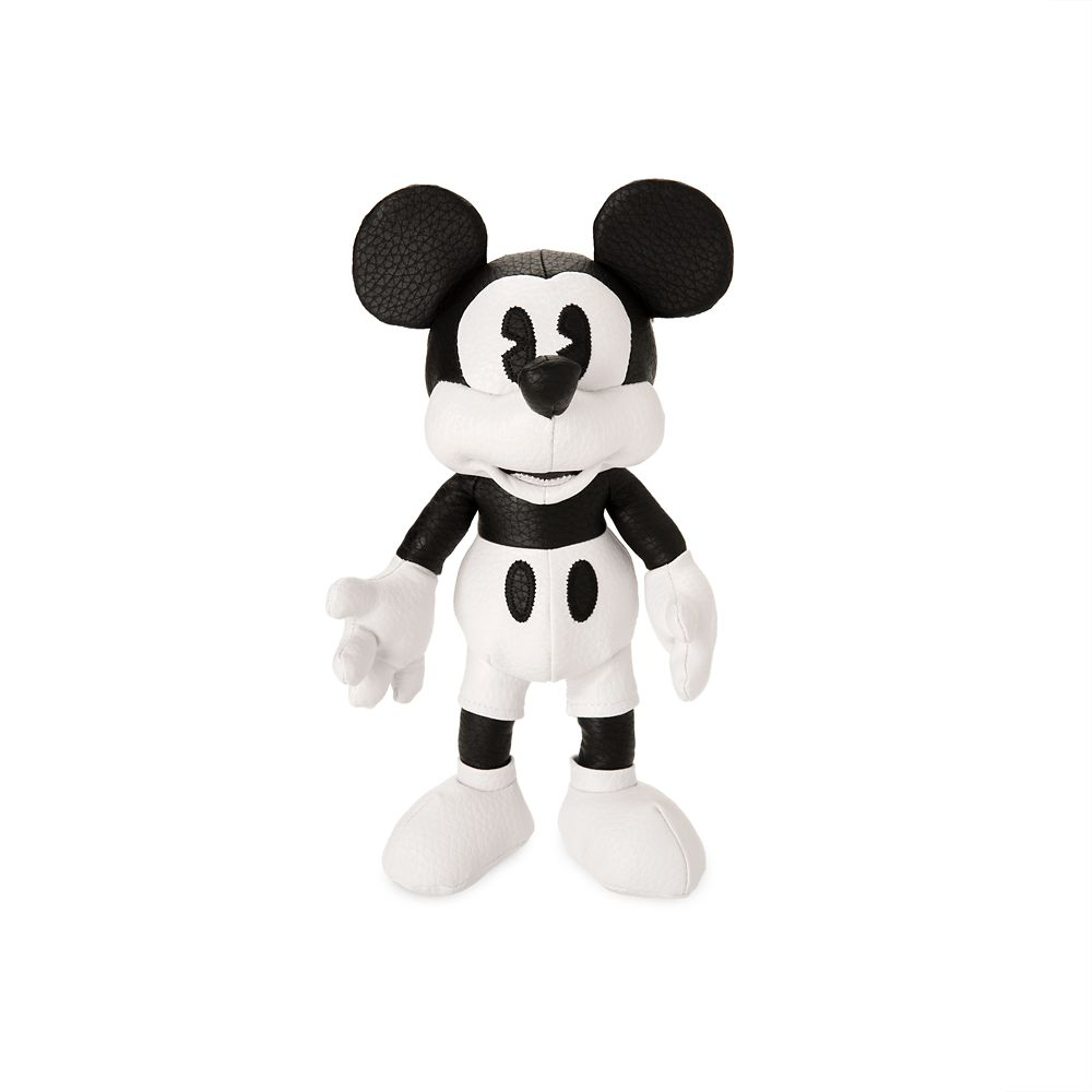 Mickey Mouse Simulated Leather Plush – Small – 10'' – White – Limited Release