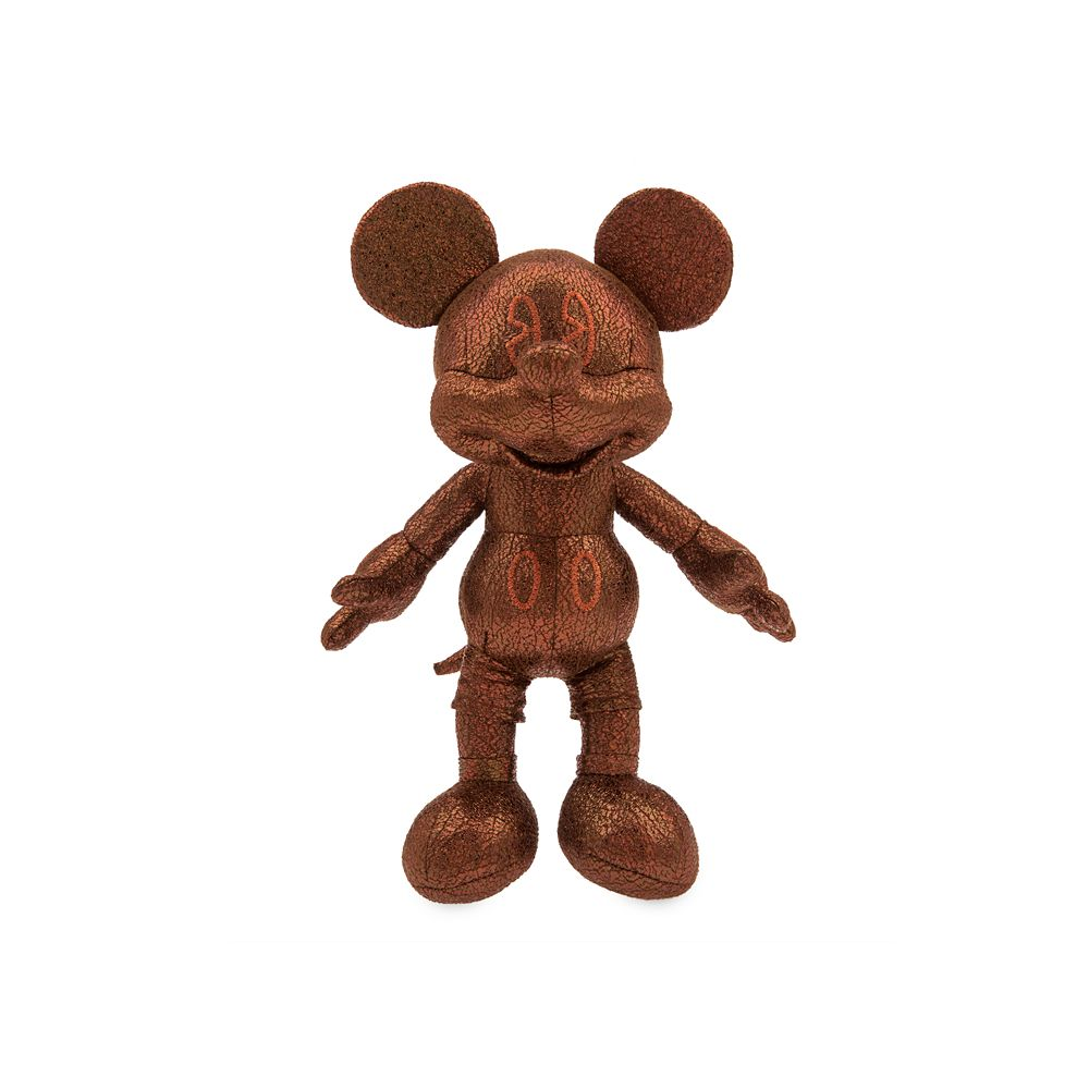 Mickey Mouse Bronze Plush – Small – 10''