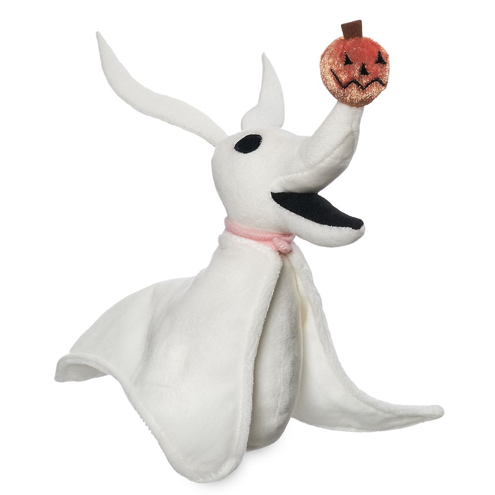 Zero Plush – Tim Burton's The Nightmare Before Christmas – Mini Bean Bag 9''