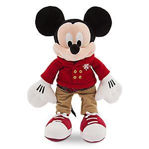 Mickey Mouse Holiday Plush - Medium - 16