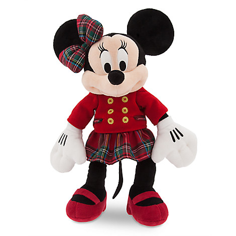 Minnie Mouse Holiday Plush - Medium - 16''