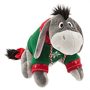 Eeyore Holiday Plush - Medium - 12