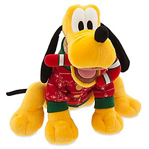 Pluto Holiday Plush - Medium - 11