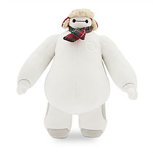 Baymax Holiday Plush - Big Hero 6 - Small - 10 1/2''
