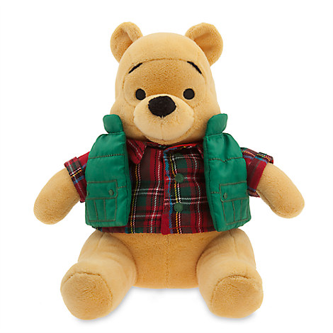 Winnie the Pooh Holiday Plush - Small - 9''