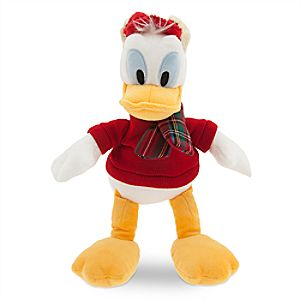 Donald Duck Holiday Plush - Small - 11