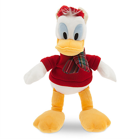 Donald Duck Holiday Plush - Small - 11''