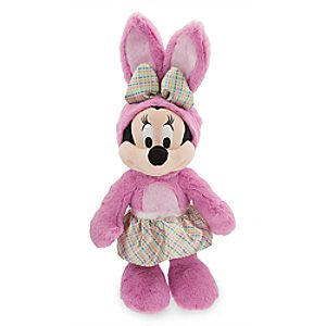 Minnie Mouse Plush Bunny - Medium
