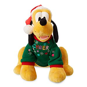 Pluto Holiday Plush - Medium