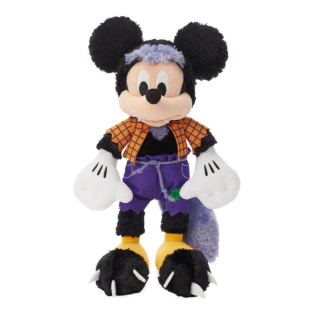 Mickey Mouse Werewolf Plush  Halloween  Small  13'' Official shopDisney