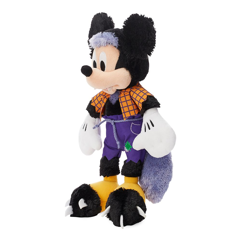 Mickey Mouse Werewolf Plush – Halloween – Small – 13''