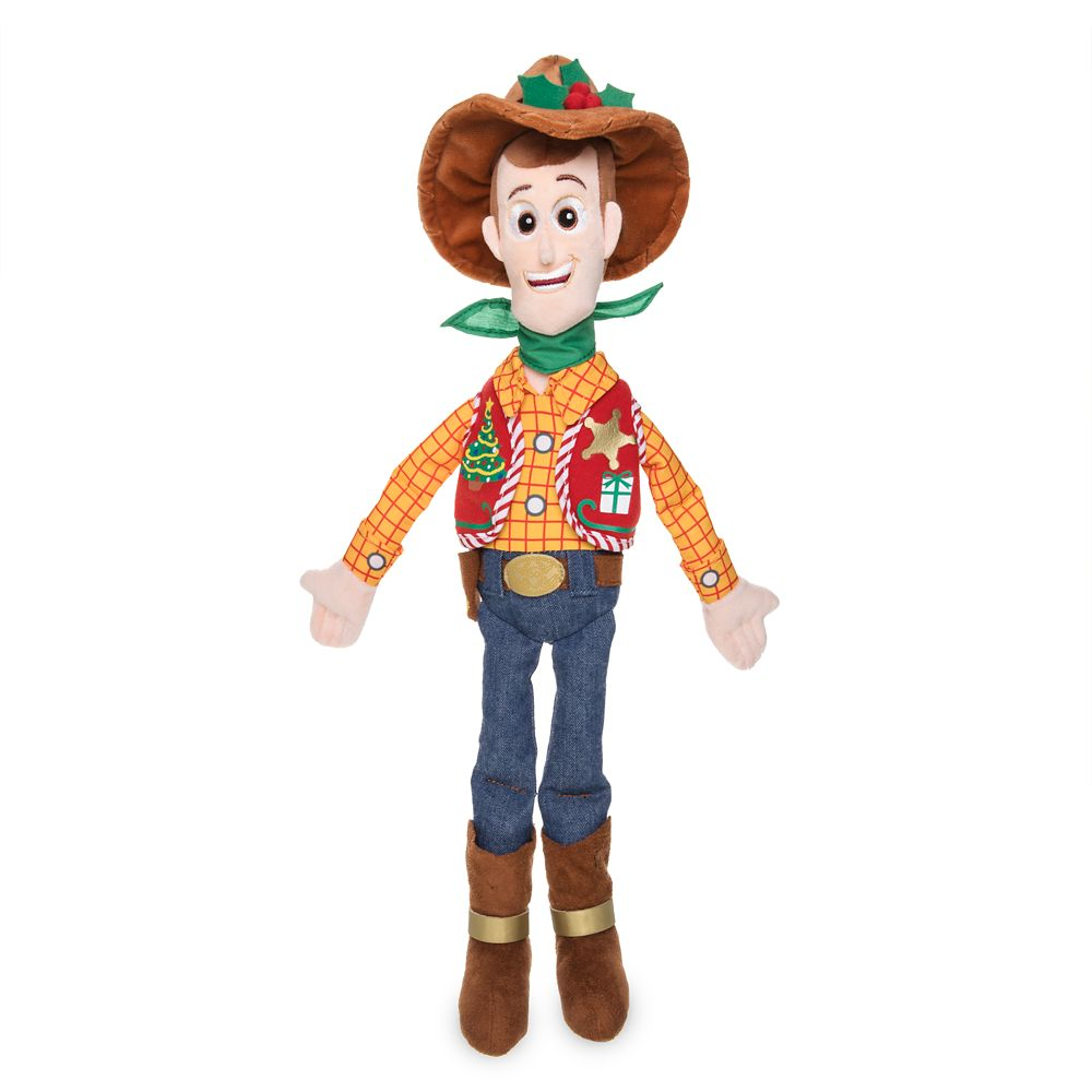 Woody Holiday Plush Doll – Toy Story – Medium – 18''