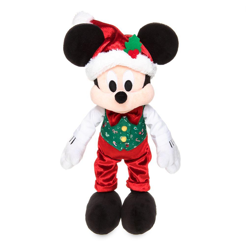 Mickey Mouse Holiday Plush – Medium – 15''