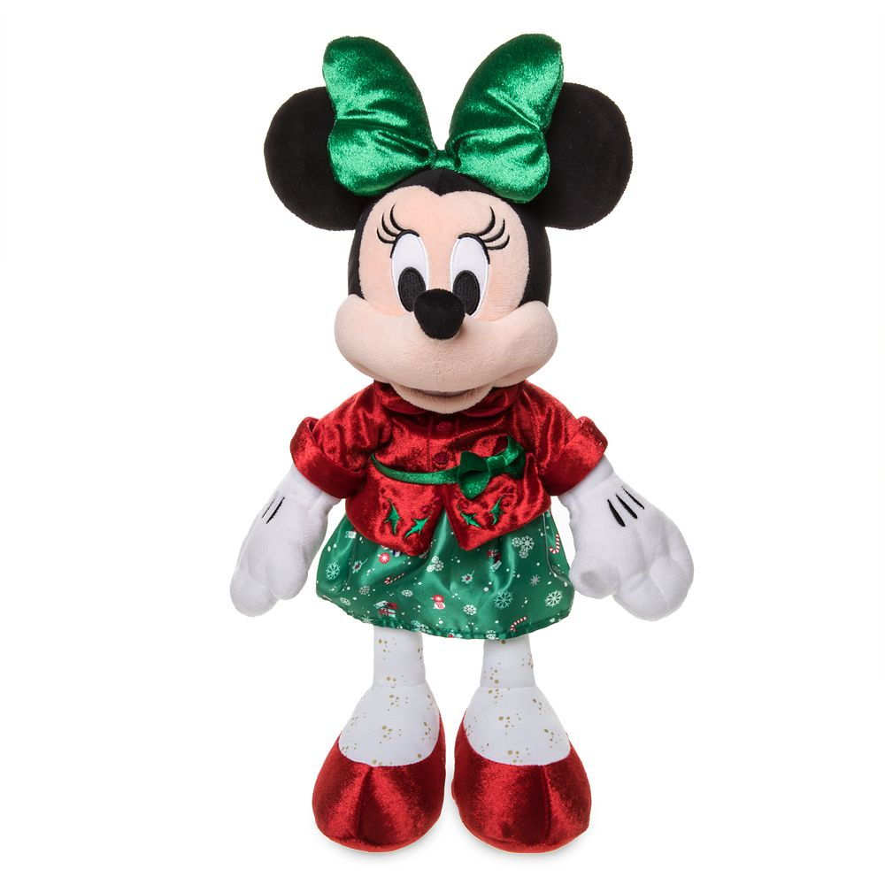 Minnie Mouse Holiday Plush – Medium – 15''