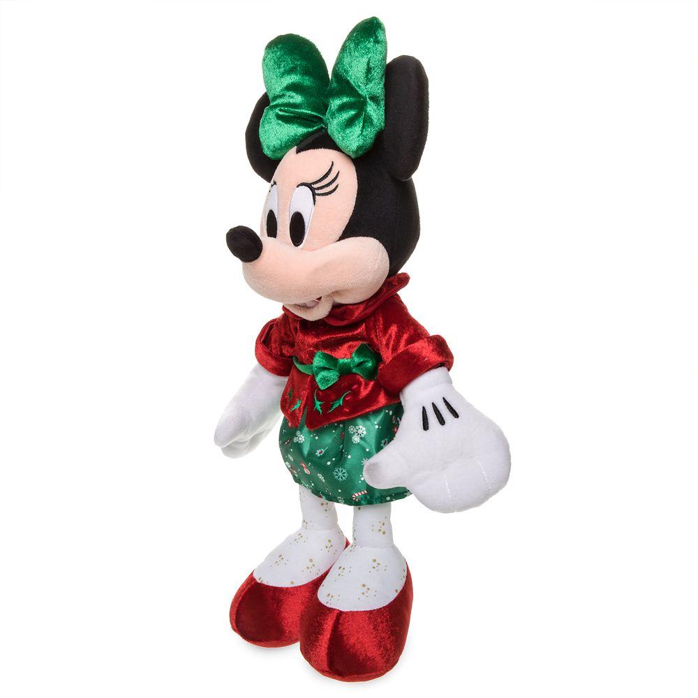 Minnie Mouse Holiday Plush – Medium – 15''
