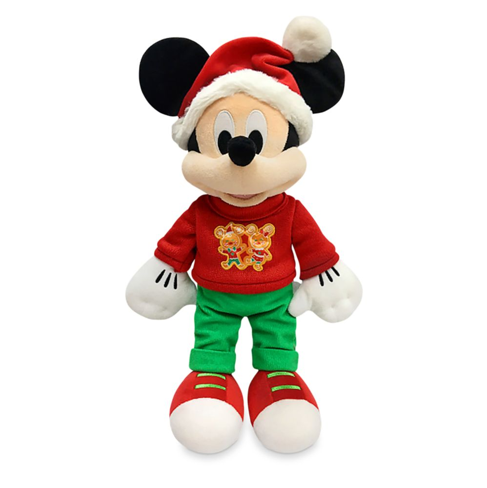 Mickey Mouse Holiday Plush – Medium 17''