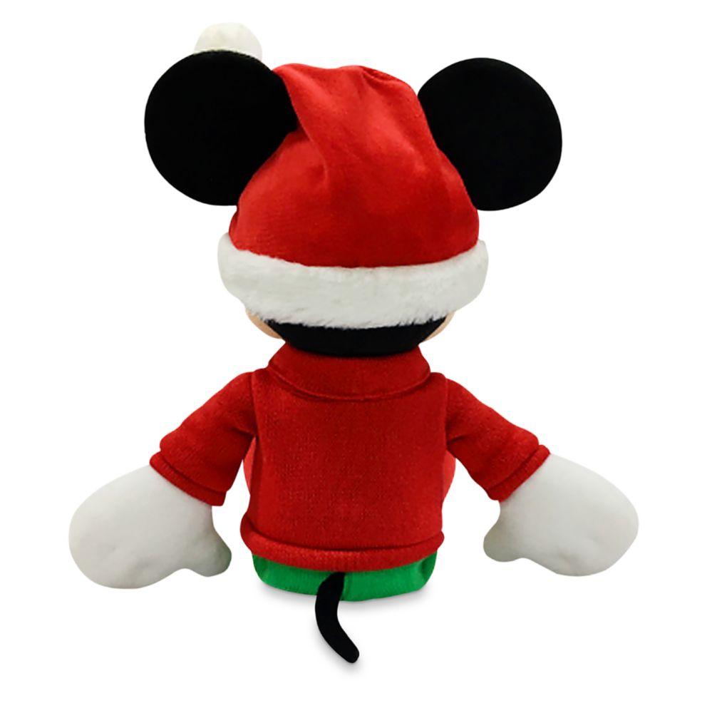 Mickey Mouse Holiday Plush – Medium 17''