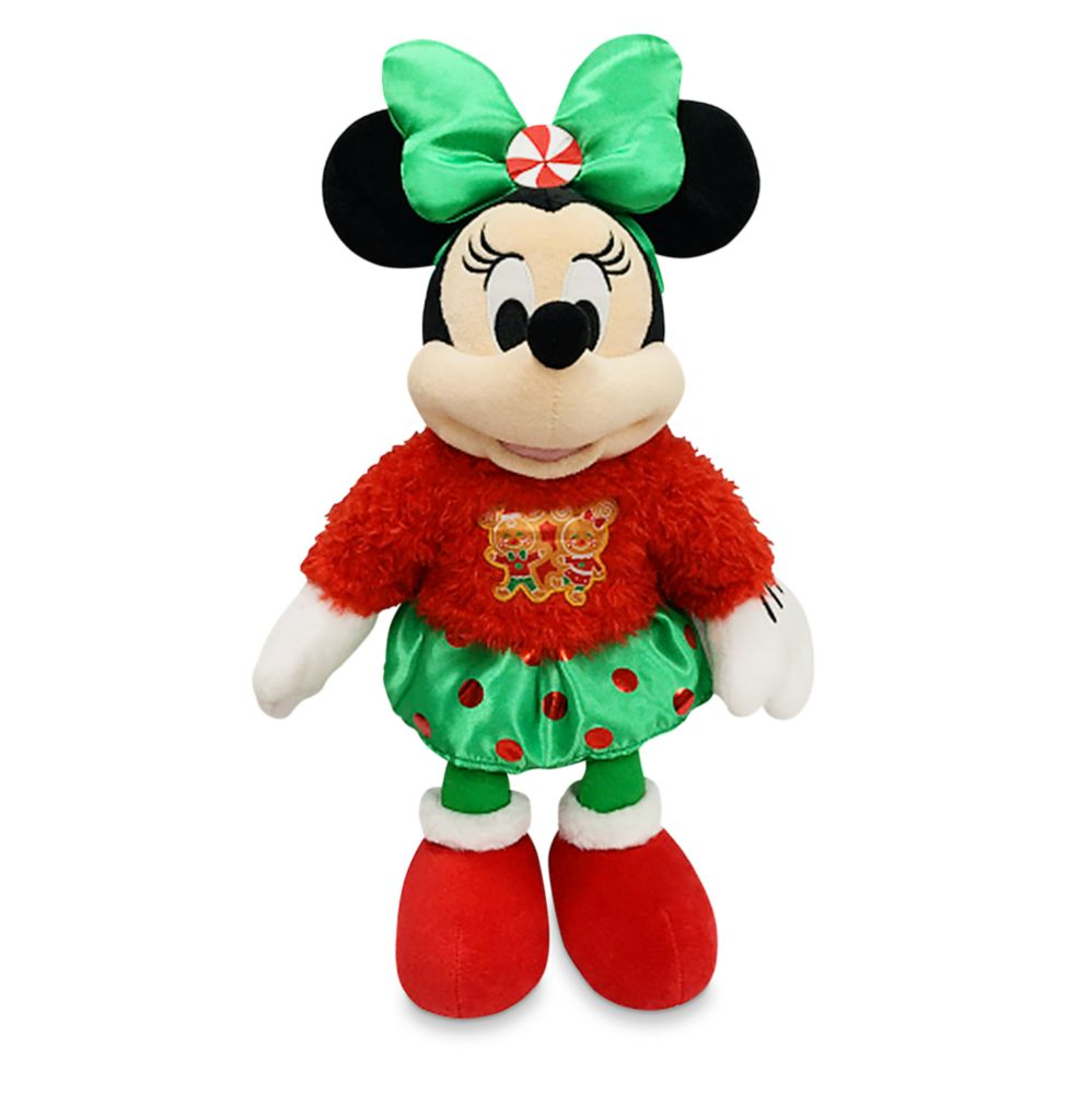 Minnie Mouse Holiday Plush – Medium 17''