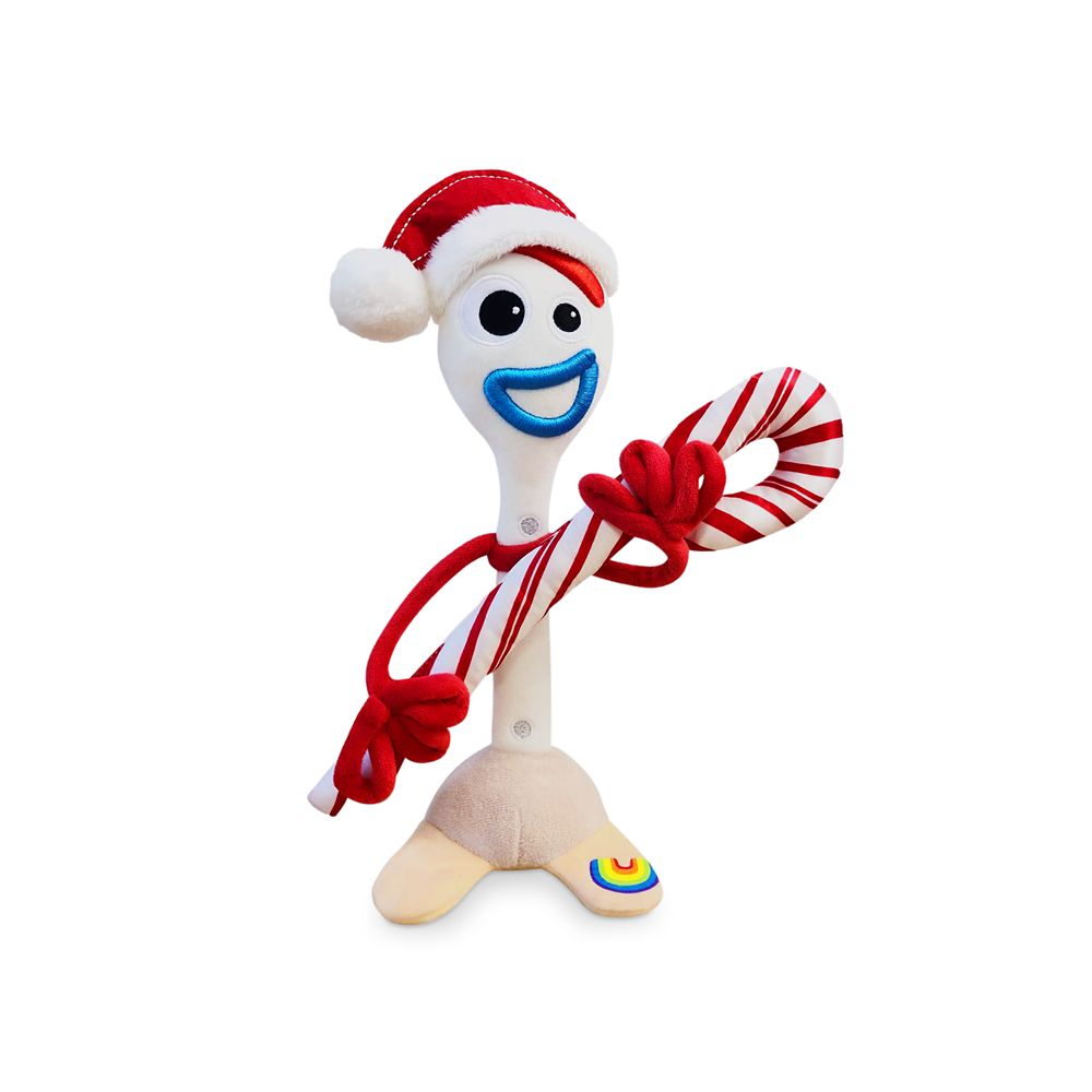 Forky Holiday Plush – Toy Story – Small 11''