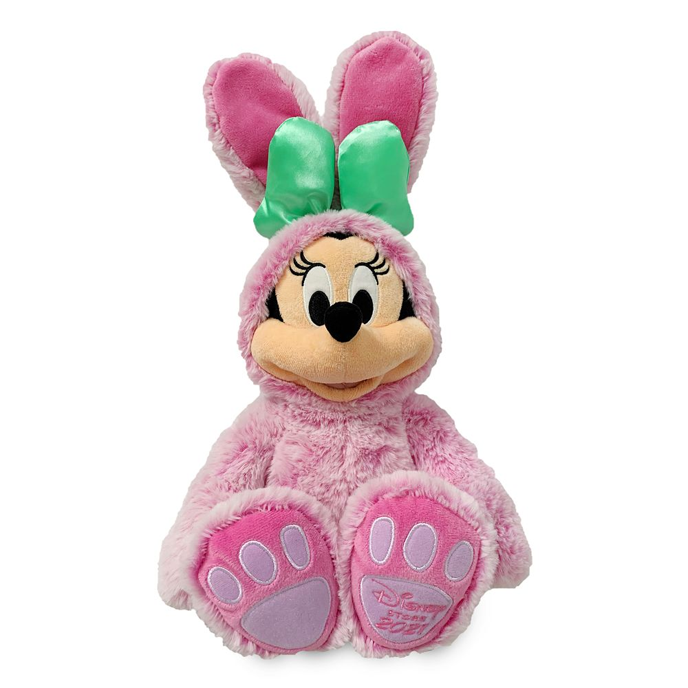 Minnie Mouse Plush Easter Bunny – Small 18''