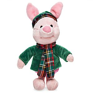 Piglet Holiday Plush - Mini Bean Bag - 8''
