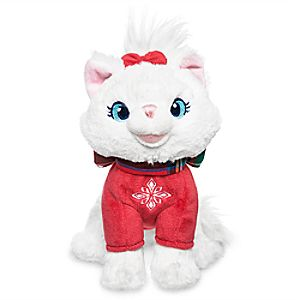 Marie Holiday Plush - The Aristocats - Mini Bean Bag - 6
