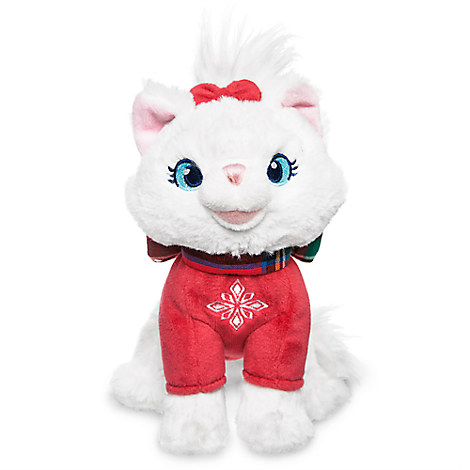 Marie Holiday Plush - The Aristocats - Mini Bean Bag - 6''