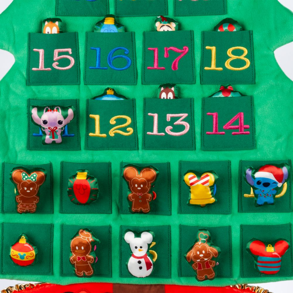 Mickey Mouse and Friends Plush Advent Calendar Wall Hanging