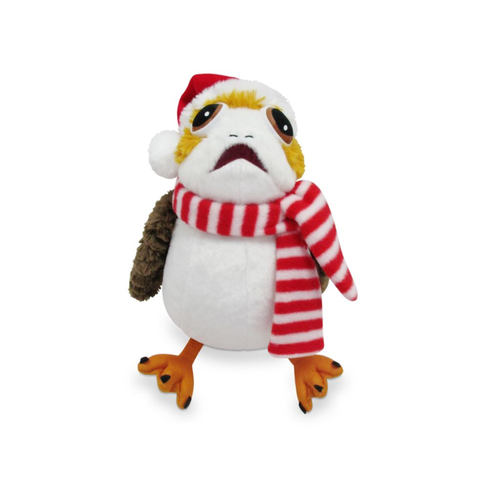 Porg Holiday Plush – Star Wars – Small 11''