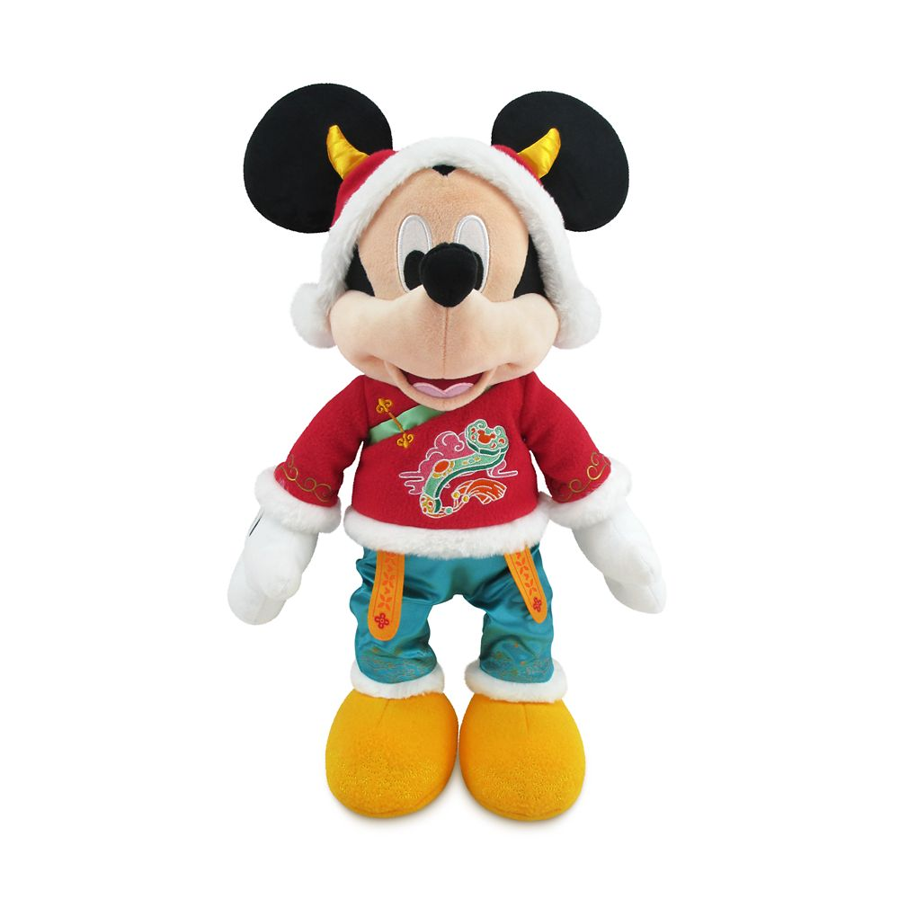 Mickey Mouse Lunar New Year 2021 Plush – Medium 17''