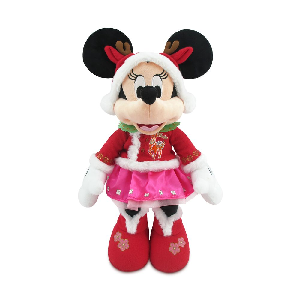 Minnie Mouse Lunar New Year 2021 Plush – Medium 17''