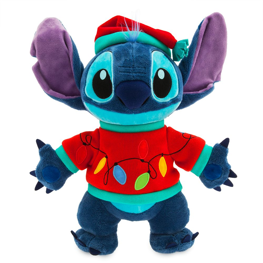 Stitch Light-Up Holiday Plush – Medium – 15''