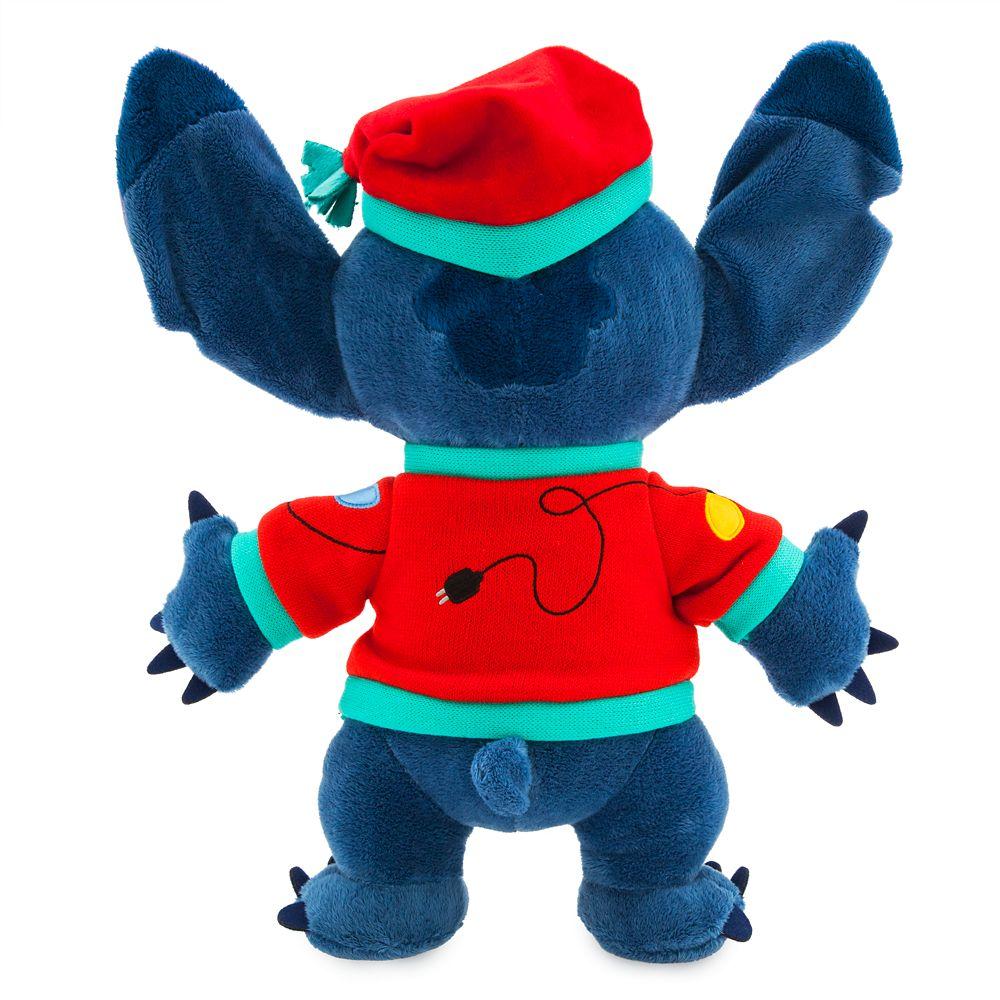 Stitch Light-Up Holiday Plush – Medium – 15''