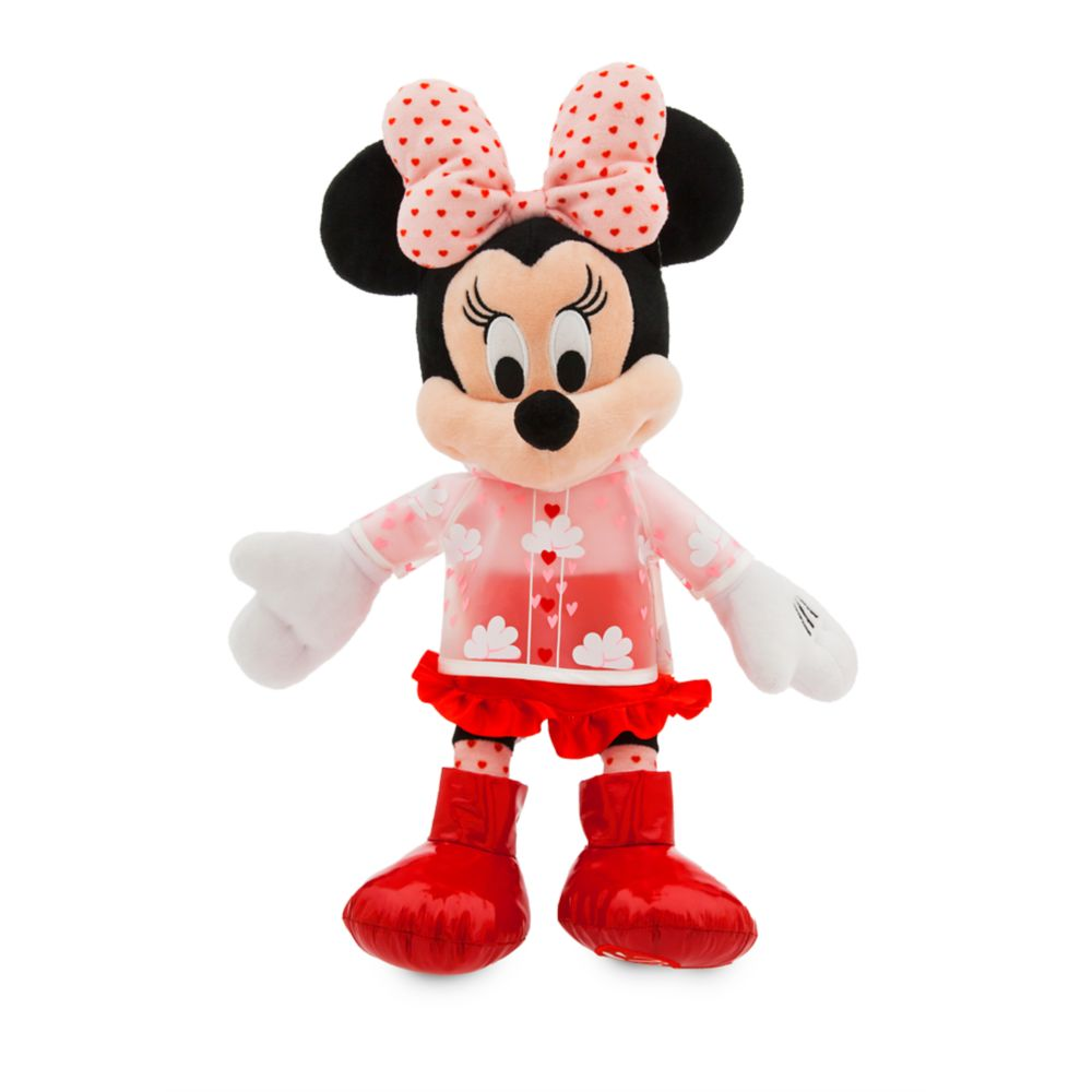 Minnie Mouse Plush – Valentine's Day – Medium – 16''
