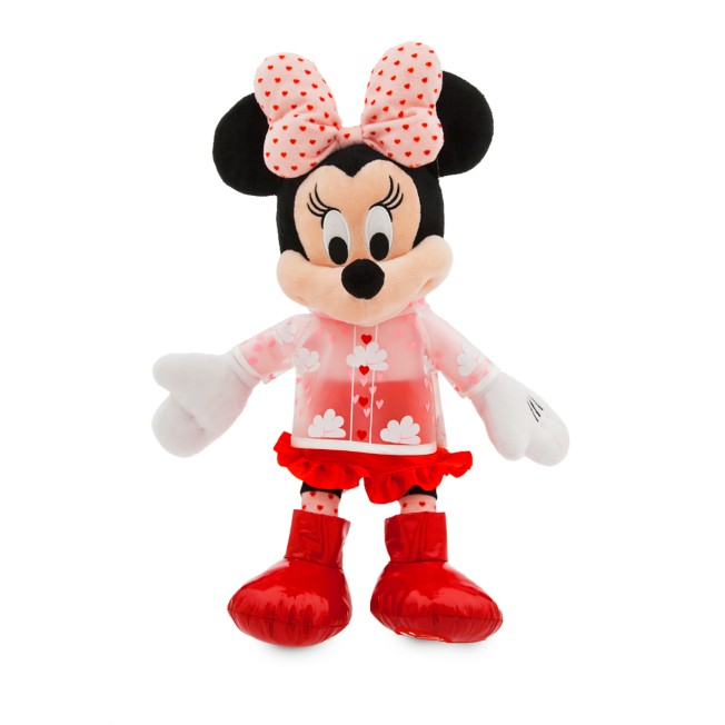 Minnie Mouse Plush – Valentine's Day – Medium – 16''