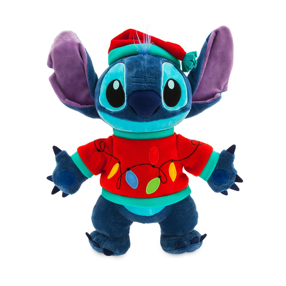 Stitch Light-Up Holiday Plush – Medium 15''