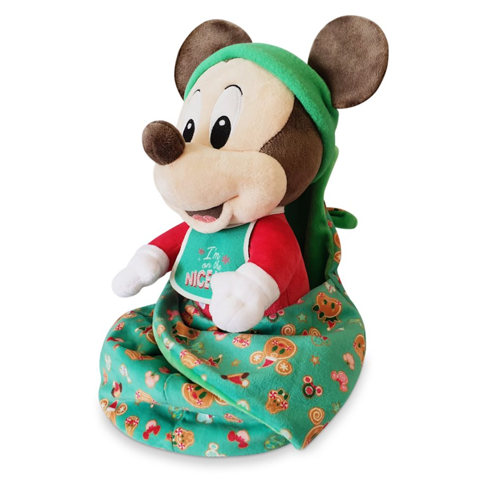 Mickey Mouse Disney Babies Holiday Plush – Small 10''