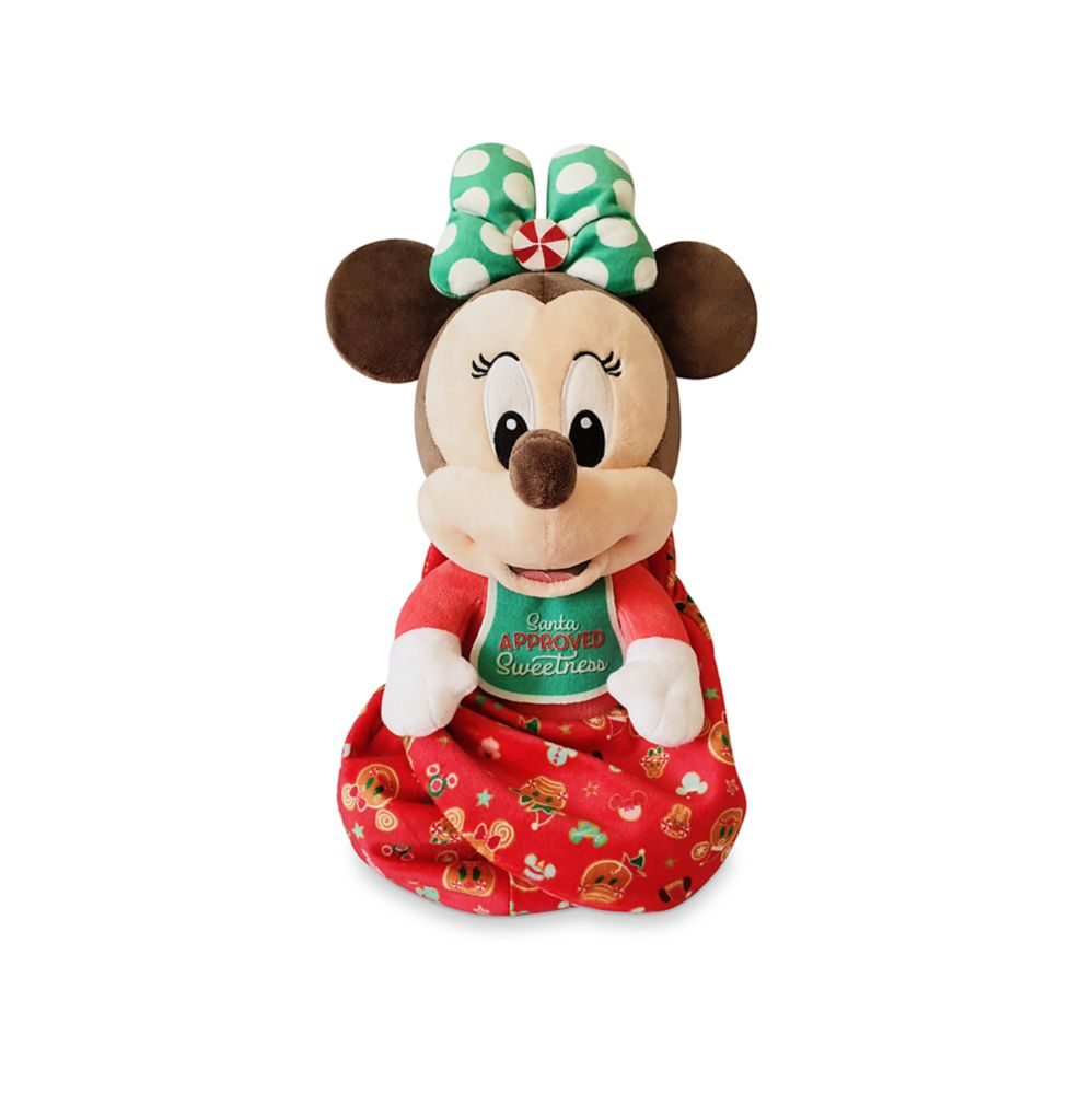 Minnie Mouse Disney Babies Holiday Plush – Small 10''