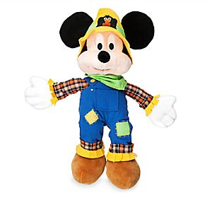 Mickey Mouse Plush - Halloween - Small - 15