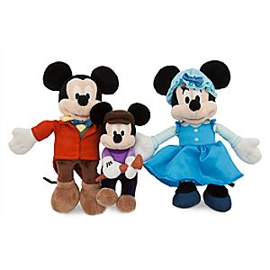 Mickeys Christmas Carol Plush Set - Mini - 8