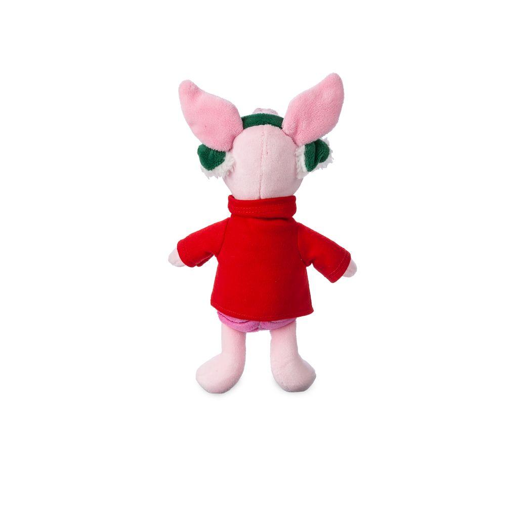 Piglet Holiday Plush – Mini Bean Bag – 8''