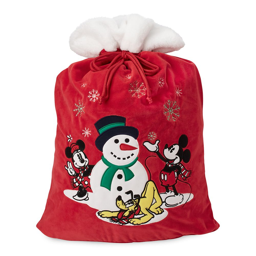 Mickey Mouse and Friends Plush Santa Sack – Large – Personalized
