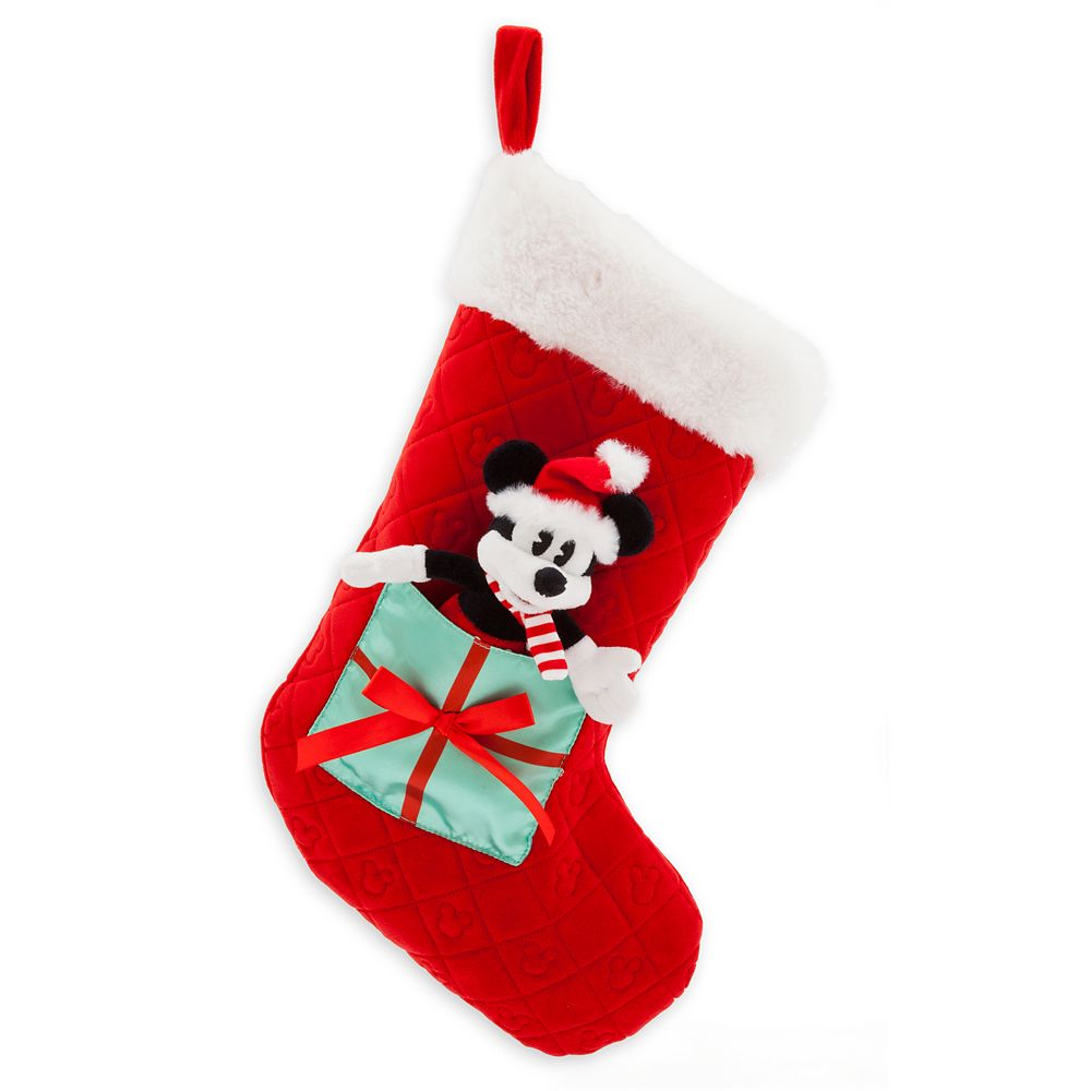 Mickey Mouse Plush Holiday Stocking